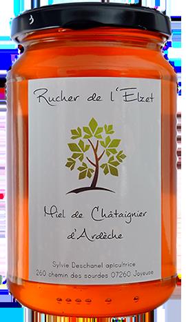 Miel d'Ardèche de Châtaignier